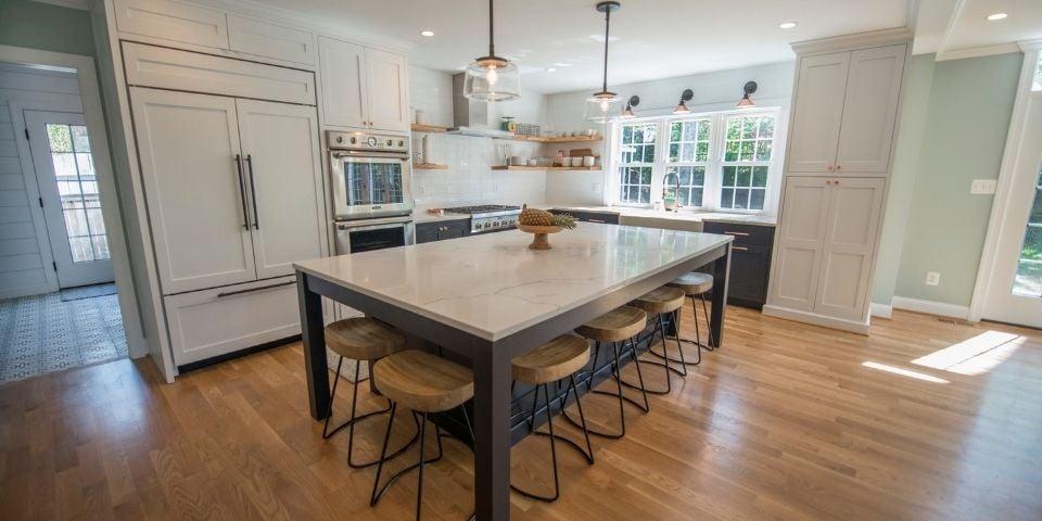 Minimalist kitchen design 2021