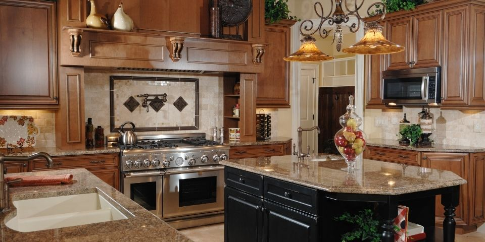early 2000s tuscan kitchen design