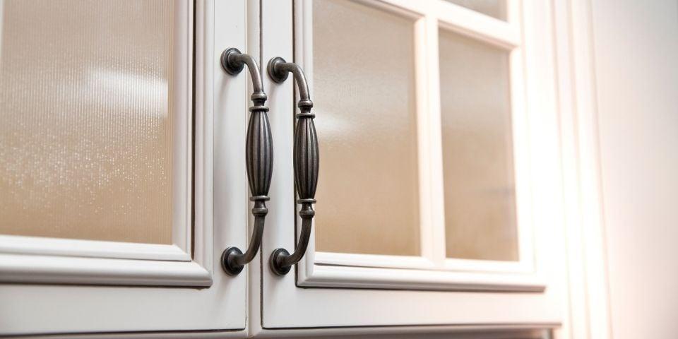 ornate kitchen handles