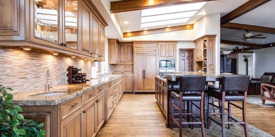 seamless hidden cabinet design