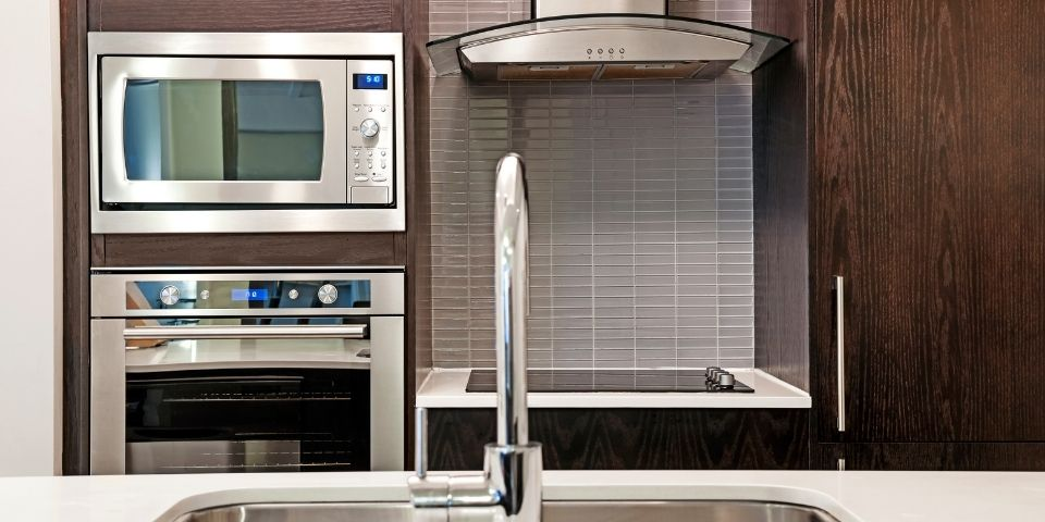 stainless steel contemporary kitchen remodel