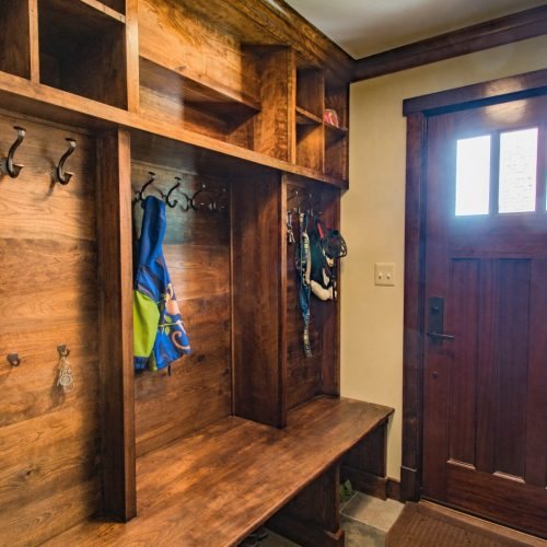 Built Ins and Mudrooms