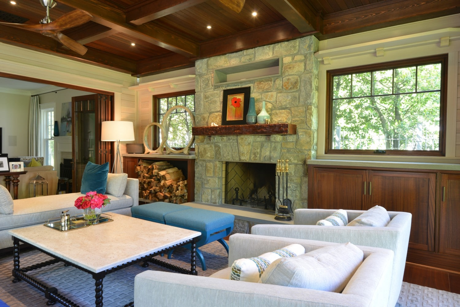 fireplace-and-gorgeous-wood-ceiling