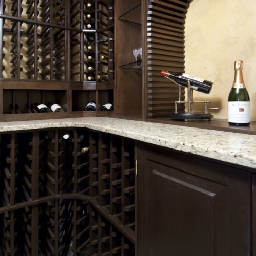 Wetbars and Wine Cellars