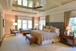 Master Suite Home Addition with Tray Ceiling and Large Windows - Home Addition Services | Denny + Gardner